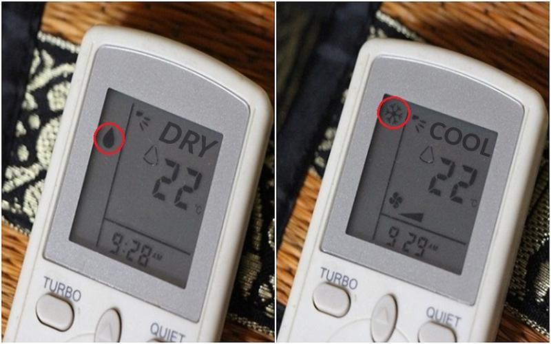 Sử dụng chế độ Cool và Dry một cách hợp lý