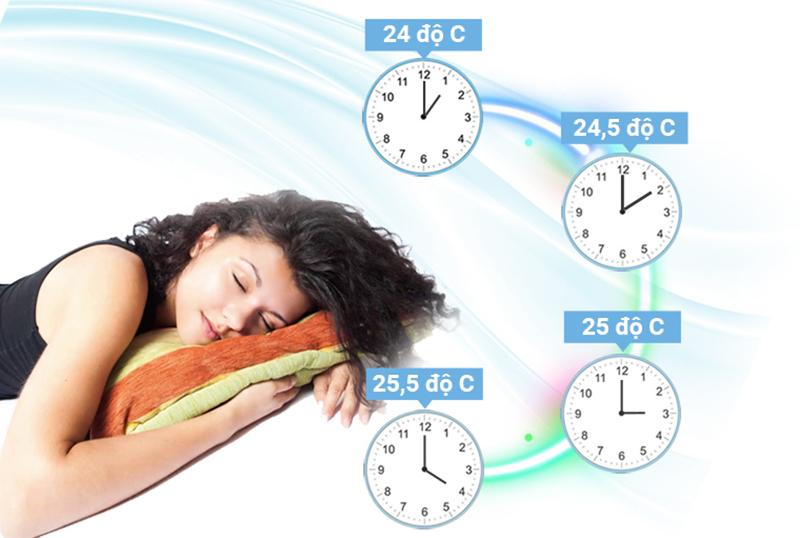 Sử dụng chế độ ngủ hoặc hẹn giờ tắt máy vào ban đêm