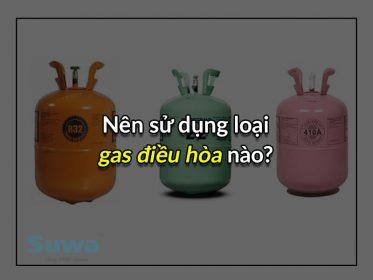 Đâu là loại gas điều hòa nào tốt nhất cho người sử dụng?