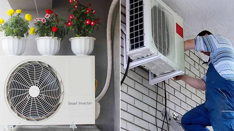 cách khắc phục cục nóng rỉ nước